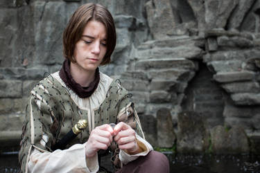 Arya Stark - Valar Morghulis by NobodyRoxasXIII
