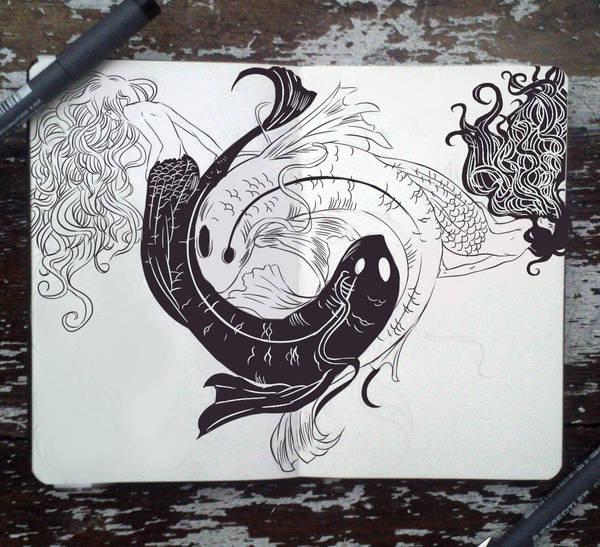 #71 Yin Yang Twins by Picolo-kun