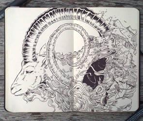 #103 Earth: The Mountain Sound by Picolo-kun