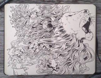 #104 Fire: The Last Roar by Picolo-kun