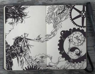 #108 Edward Scissorhands by Picolo-kun
