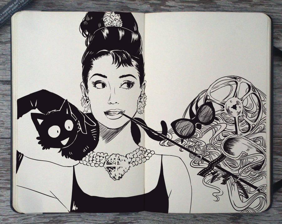#124 Happy Bday Audrey Hepburn by Picolo-kun