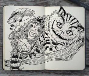 #130 Cheshire Cat by Picolo-kun