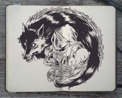 #132 Red Riding Hood by Picolo-kun