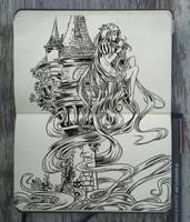 #133 Rapunzel by Picolo-kun