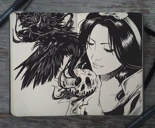 #135 Snow White by Picolo-kun