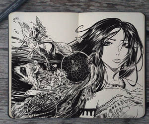 #139 Pocahontas by Picolo-kun