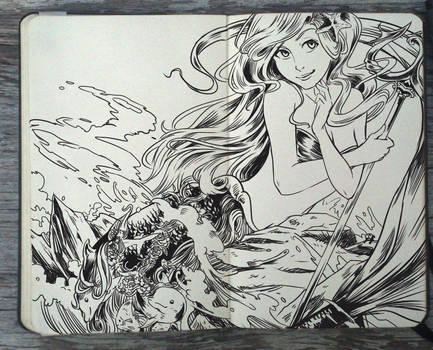 #141 The Little Mermaid by Picolo-kun