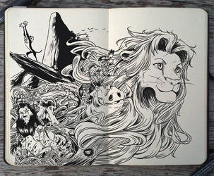 #142 The Lion King by Picolo-kun
