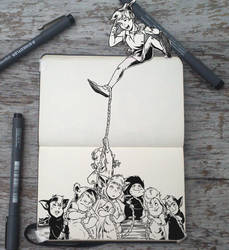 #144 Tug of War by Picolo-kun