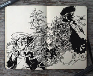 #145 Treasure Planet by Picolo-kun