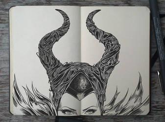 Evil is the new black by Picolo-kun
