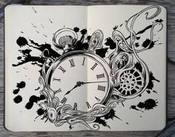 #168 I'm outta time by Picolo-kun