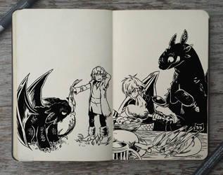 #175 Old habits by Picolo-kun