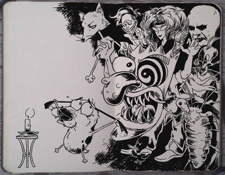 #189 Courage the Cowardly Dog by Picolo-kun