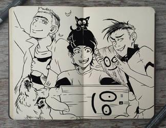 #191 Ed, Edd n Eddy by Picolo-kun