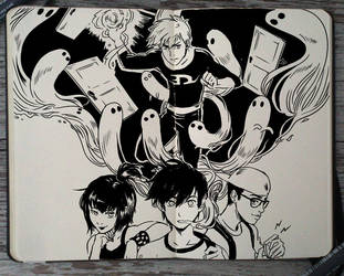 #206 Danny Phantom by Picolo-kun