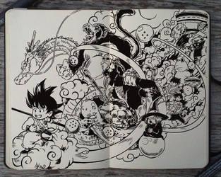 #209 Dragon Ball by Picolo-kun
