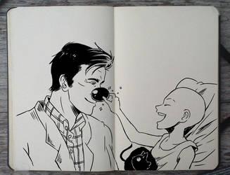 #211 RIP Robin Williams by Picolo-kun