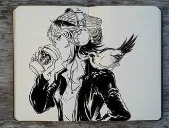 #217 Morning Bird by Picolo-kun