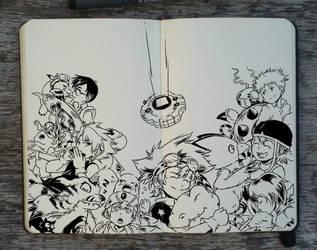 #218 Digimon Adventure by Picolo-kun