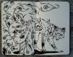 #233 Kitsune by Picolo-kun