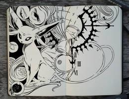#286 Espeon by Picolo-kun