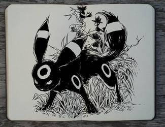 #288 Umbreon by Picolo-kun