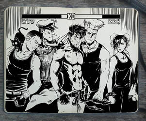 #310 Street Fighter by Picolo-kun