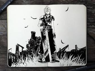 #320 Final Fantasy VII by Picolo-kun