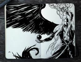 #322 Sephiroth by Picolo-kun