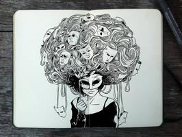 #342 Masquerade Ball by Picolo-kun