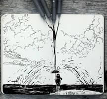 #343 Flood by Picolo-kun