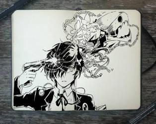 #345 Persona! by Picolo-kun