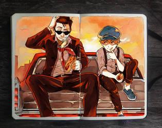 .: Oliver and Company by Picolo-kun