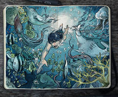 .: Undersea by Picolo-kun