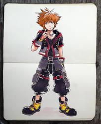 Kingdom Hearts 3 outfit!!! by Picolo-kun