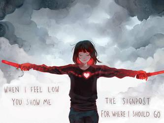 Show me the Way by Picolo-kun