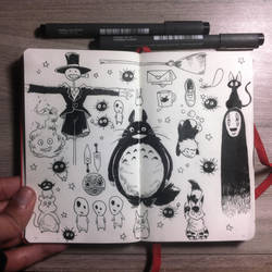 #5 Ghibli starter pack by Picolo-kun