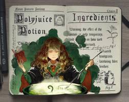 #6 Polyjuice Potion by Picolo-kun