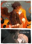 The Break up by Picolo-kun
