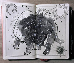 Ursa Major Constellation by Picolo-kun