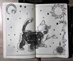 Ursa Minor Constellation by Picolo-kun