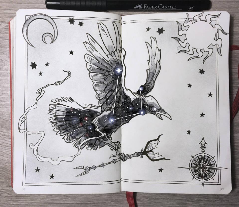 Raven Constellation by Picolo-kun