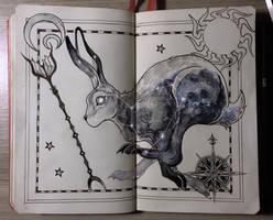 Hare constellation by Picolo-kun