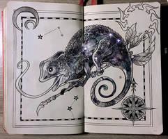 Chameleon constellation by Picolo-kun