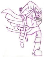 Mace Windu Clone Wars by Jasmeralda