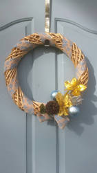 Home made Christmas wreath  by protogril