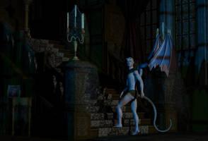 The Visitor by elenacalderas