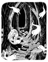 Ink Ghosts by heikala